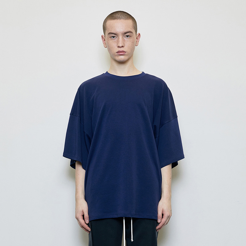OVERSIZED T-SHIRT (NAVY)
