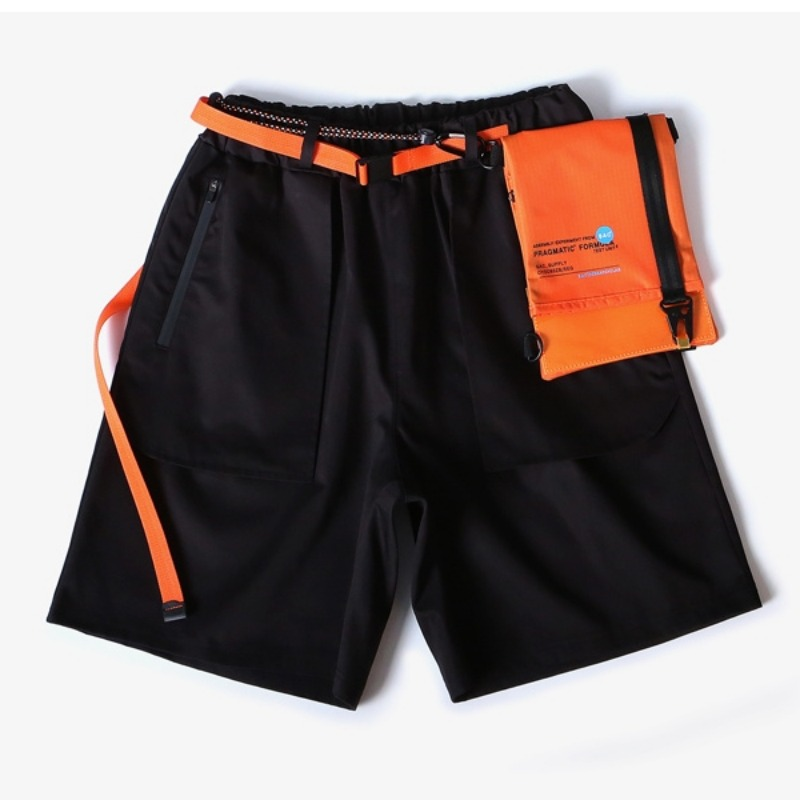 ENGINEERED BANDING SHORTS BLACK