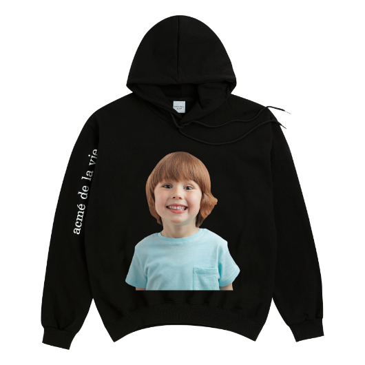 ADLV BABY FACE HOODIE BLACK MINT BOY