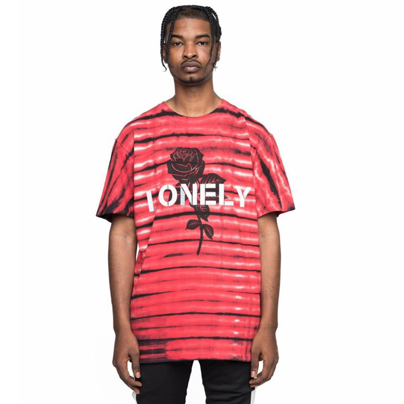 LONELY LOVELY TEE (RED)