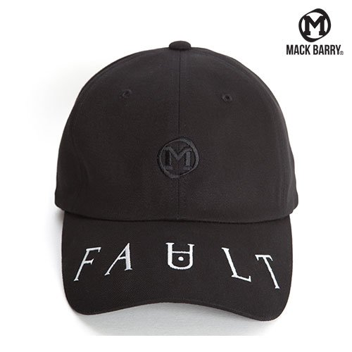 MACK BARRY FAULT CURVE CAP (B) BLACK