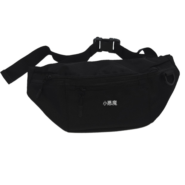 DEVIL WAIST BAG (BLACK)