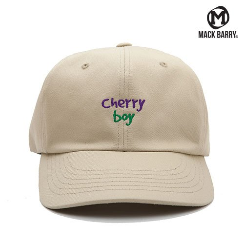 MACK BARRY CHERRY BOY 6P CAP (A) BEIGE