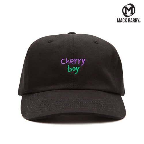 MACK BARRY CHERRY BOY 6P CAP (A) BLACK