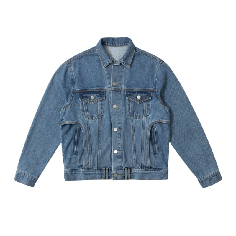 PANTS POCKET DENIM JACKET