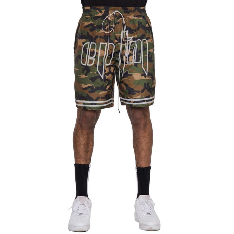 TACTICAL BASKETBALL SHORTS (CAMO)