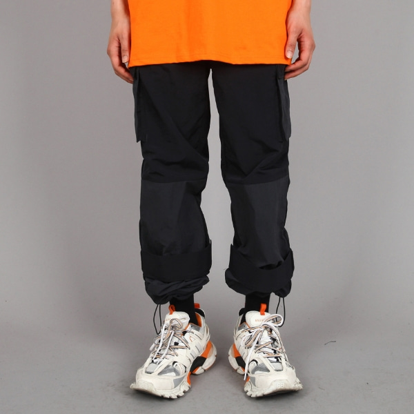 VELCRO MIX PANTS BLACK