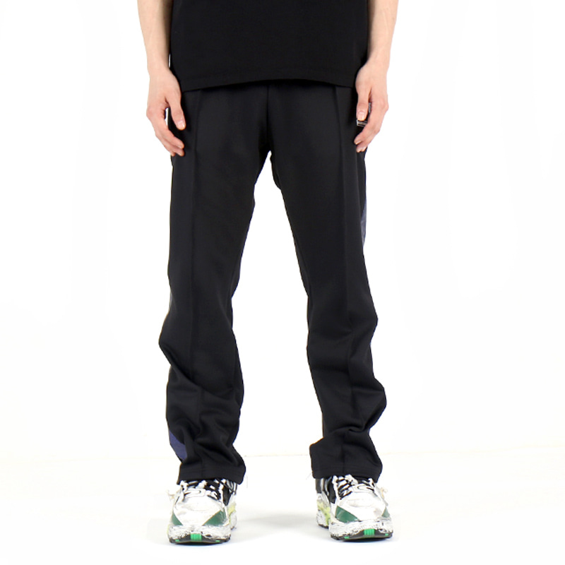 SHINING TRACK PANTS (BLACK/BLUE)