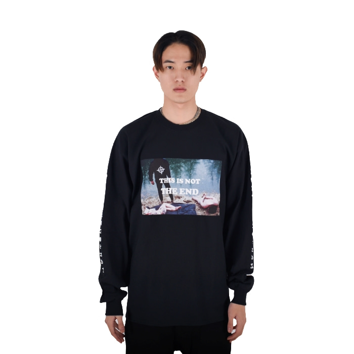 LONG SLEEVE TEE 2 (BLACK)