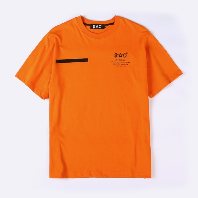 COMPANY T-SHIRTS ORANGE