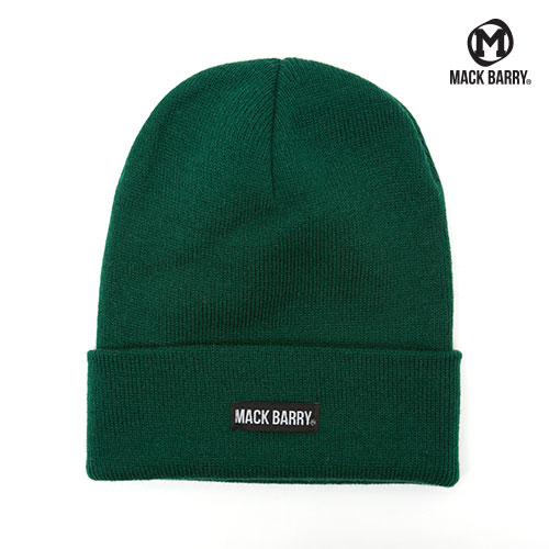 MACK BARRY BASIC BEANIE (GREEN)