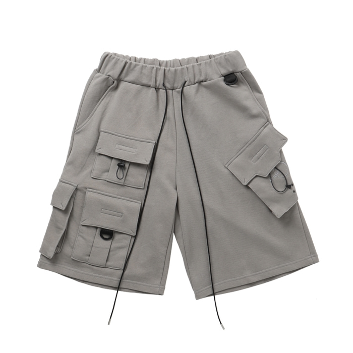 FOCUS TECH WEAR CARGO SHORTS KHAKI