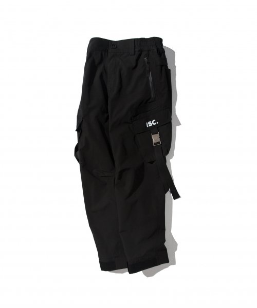WLG TECH CARGO PANTS BLACK
