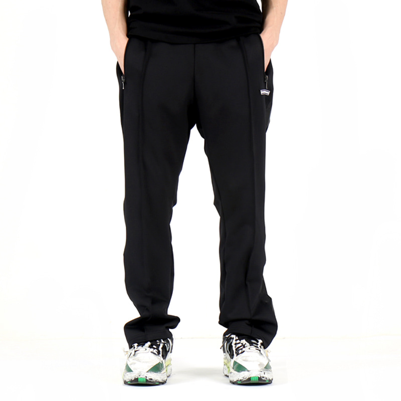 SHINING TRACK PANTS (BLACK/BLACK)