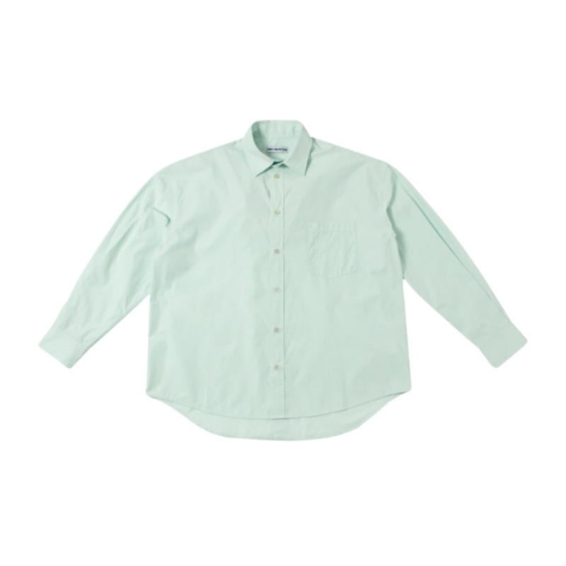 DOUBLE COLLAR MINT SHIRT