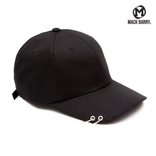 MACK BARRY CURVE RING CAP (B) BLACK