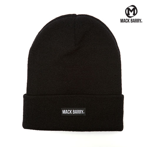 MACK BARRY BASIC BEANIE (BLACK)