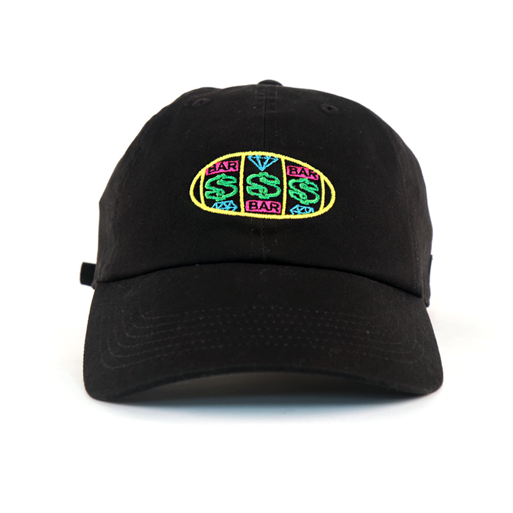 MONEY GANG BALL CAP (BLACK)