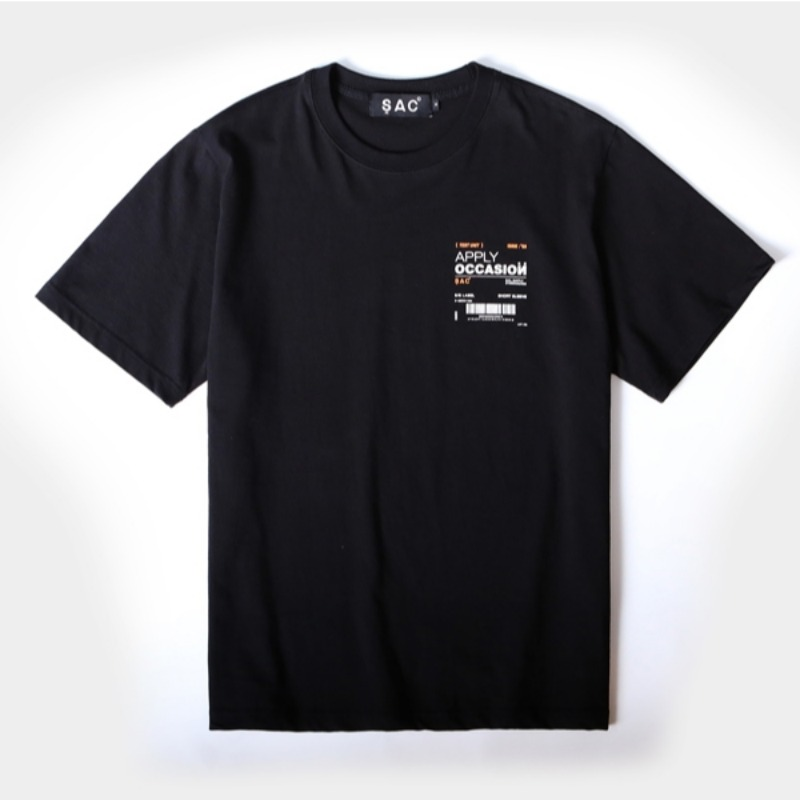 OCCASION T-SHIRTS BLACK