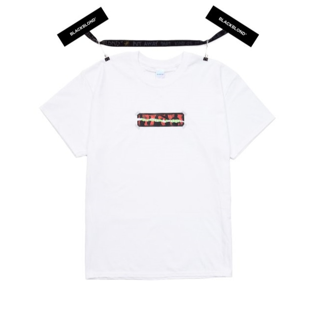 BBD INNOCENT BOX LOGO SHORT SLEEVE TEE WHITE