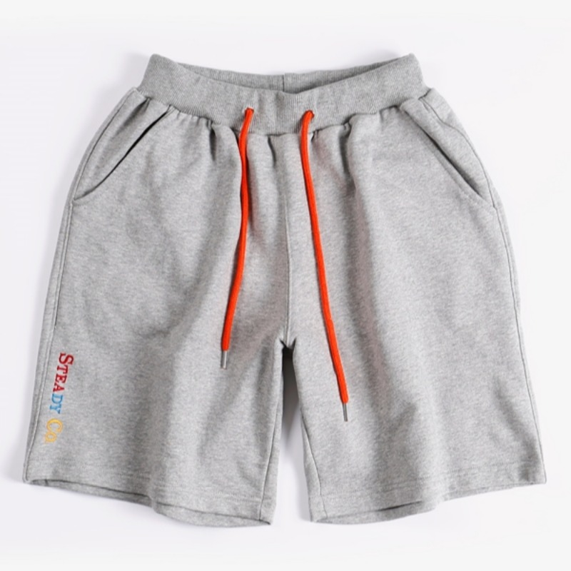 STEADY CO SWEAT SHORTS GREY