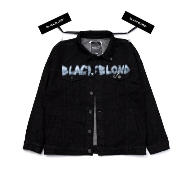 BBD INNOCEANT DENIM JACKET BLACK