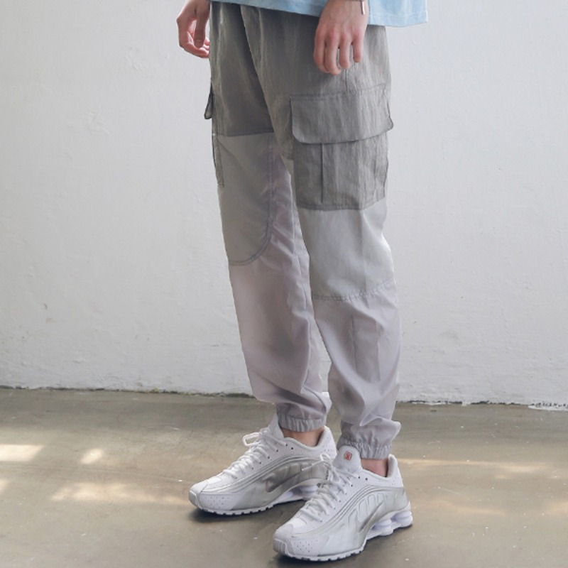 3RD SECTION JOGGER PANTS MSNCP003-AG