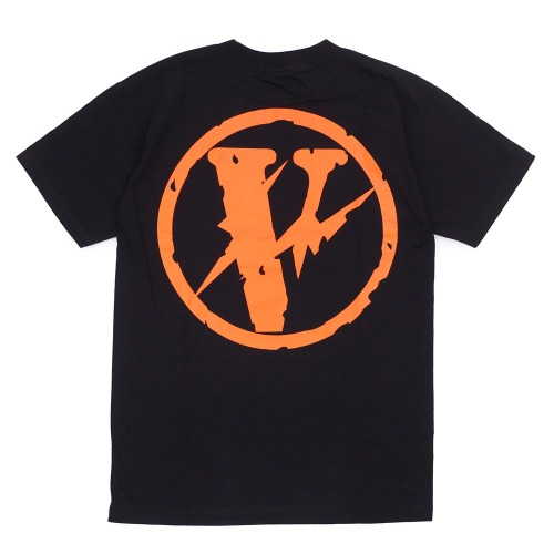 VLONE X FRAGMENT FRIENDS TEE BLACK