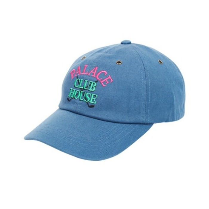 CLUBHOUSE 6-PANEL BLUE