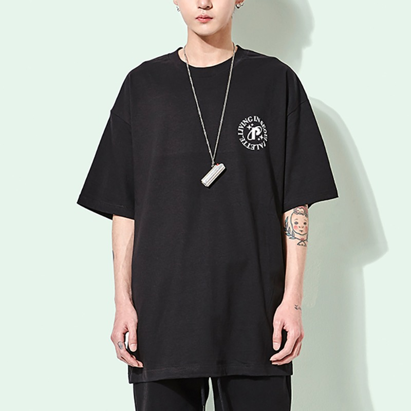 LIVING IN SEOUL TEE (BLACK)