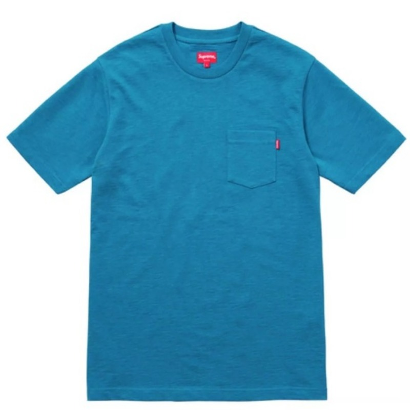 POCKET S/S TEE BLUE
