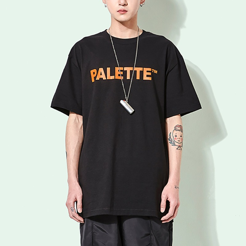 PALETTE WE GO TEE (BLACK)