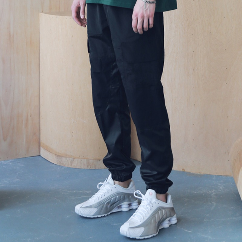 3RD SECTION JOGGER PANTS MSNCP003-BK