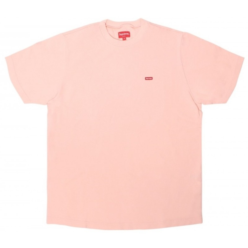 SMALL BOX TEE PEACH