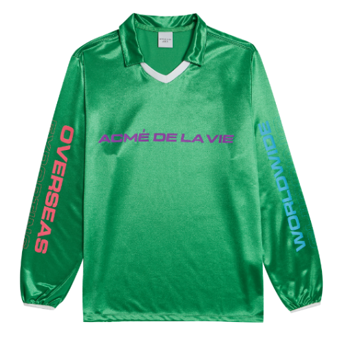 ADLV WORLD WIDE LONG SLEEVE GREEN