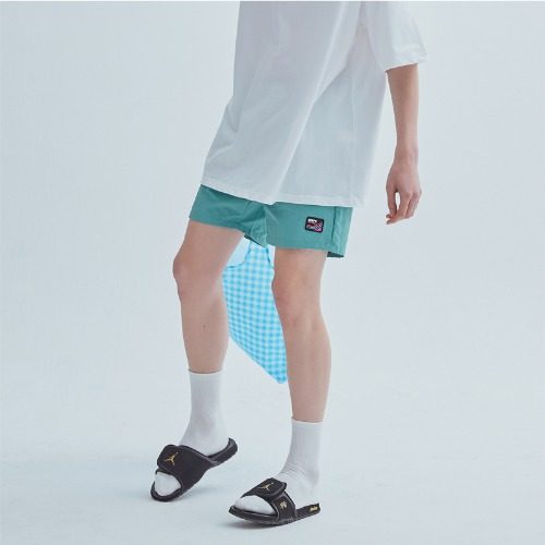 LOGO PATCH PANTS MINT