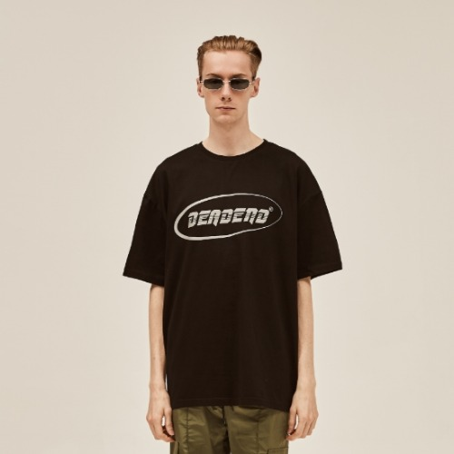 BLACK LOGO REFLECTIVE T-SHIRTS
