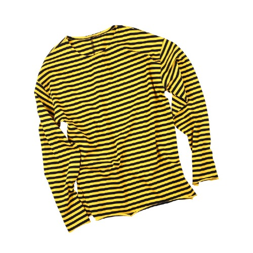 CUTTTING LONG SLEEVE YELLOW/BLACK