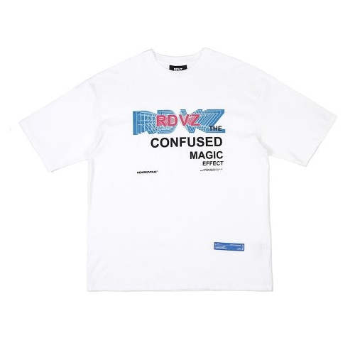 THE CONFUSED T-SHIRTS WHITE