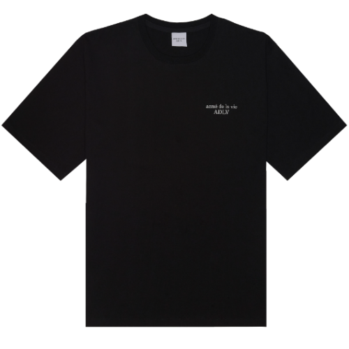 ADLV BASIC SHORT SLEEVE 2 BLACK