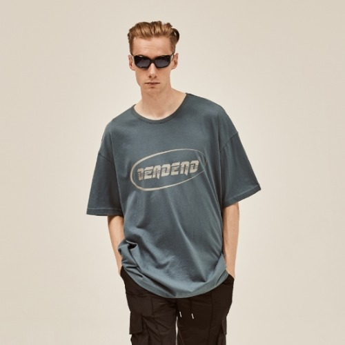 DEEP BLUE LOGO REFLECTIVE T-SHIRTS