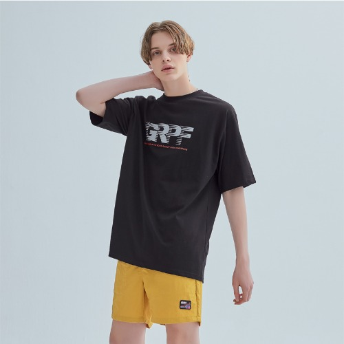 SCOTCH LOGO TEE BLACK