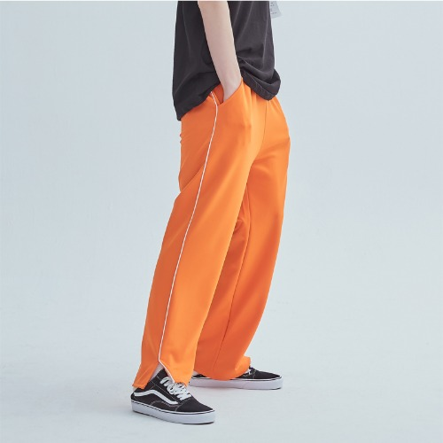 LINE TRAINIG PANTS ORANGE