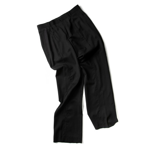 RAW CUT HORIZONTAL STITCH PANTS