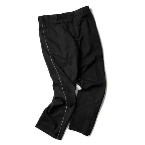 MUSLIN RAW CUT PANTS