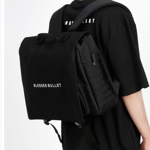 SIGNATURE II MESSENGER BACKPACK BLACK