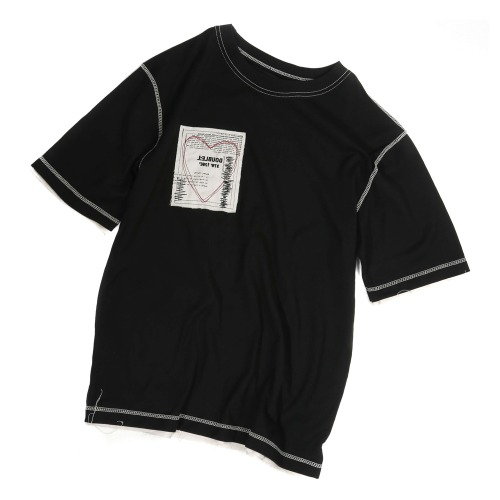 HEART PATCH T-SHIRTS