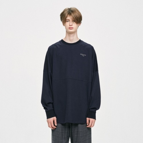 CREWNECK T-SHIRT NAVY