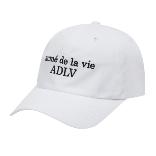 ADLV BASIC BALL CAP WHITE