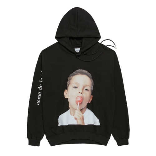 ADLV BABY FACE HOODIE BLACK CANDY
